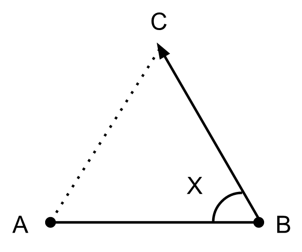 Triangle - the simplest two-dimensional shape